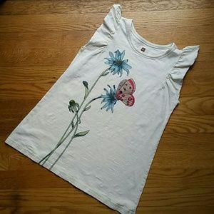 Size 8/10 girl Tea Collection top